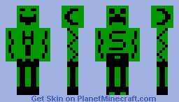 Creeper vs Kinder Minecraft Skin