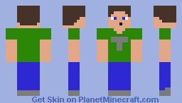 My Custom Tobuscus-Toby Turner Skin Minecraft Skin
