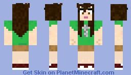 TobyTurner Girl Minecraft Skin