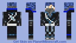 Ice Ninja Minecraft Skin
