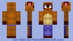 Animal Crossing: Tom Nook Minecraft Skin