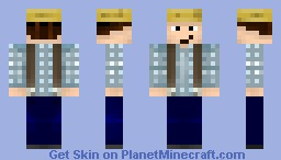 Tom Sawyer Minecraft Skin