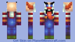 Heeeeeere's Tongue-y! (redo of old skin) Minecraft Skin