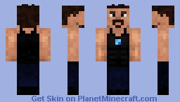 The Great TONY STARK by theonlybmax [3D Parts] Minecraft Skin