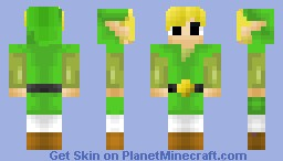 Toon Link! :D  Coffeebeans 200 SUBSCRIBER SKIN COMPETITION! Minecraft Skin