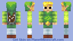 Toon Link (Updated) Minecraft Skin