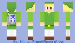 ToonLink Minecraft Skin