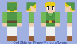 Toon Link - The Legend of Zelda Minecraft Skin