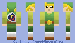 Toon Link (Legend of Zelda Wind Waker)