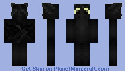 Toothless - How to Train your Dragon Minecraft Skin
