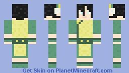 Avatar the Last Airbender - Toph Minecraft Skin