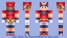 Trainer May Minecraft Skin