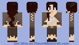 Female Traveller Minecraft Skin