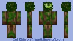 Tree Spirit Minecraft Skin