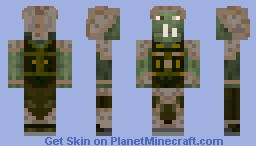 Orc Skin - Tremarcki Footsoldier - The Tales of Runebrire Official Project Minecraft Skin