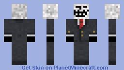 TrollFace in Suit Minecraft Skin