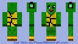 Turtlederp - Now Shaded! Minecraft Skin