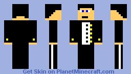 Guy In Tux! Minecraft Skin