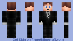 Tuxedo Guy (Requested by Brodimus) Minecraft Skin