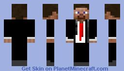 Tuxedo Steve Minecraft Skin