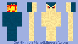 Typhlosion Skin Minecraft Skin