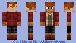 Tyrantrum Human Minecraft Skin