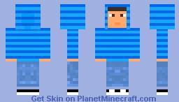 Pokemon Master Tyrell Minecraft Skin