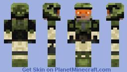 UNSC Marine (Halo) Minecraft Skin