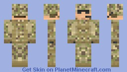 Multicam Minecraft Skin