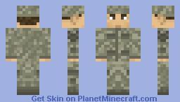USAF Airman Battle Uniform (ABU) Minecraft Skin