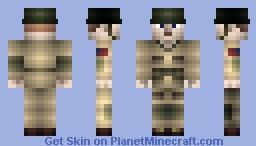 US Airborne Paratrooper Minecraft Skin