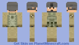 United States Army Helicopter Pilot - 1st Cavalry Division - Kaelakov Minecraft Skin