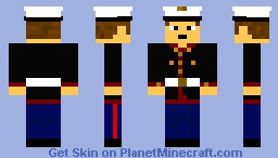 U.S. Marine (Dress Uniform) Minecraft Skin
