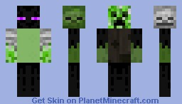 MOB (Master Of Bosses) Minecraft Skin