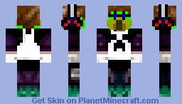 Paintball Man Minecraft Skin