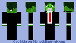 Hulk Suit Minecraft Skin