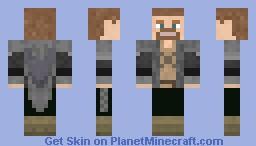 (Skyrim) Ulfric Stormcloak Minecraft Skin