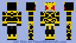 Kamen Rider Kuuga (Ultimate Form) Minecraft Skin