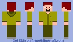 Ulrich (Earth Form) Minecraft Skin