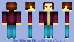 Peter Parker (Ultimate Spider-Man) Minecraft Skin