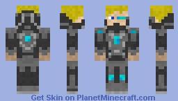 Space Defender Pro [Sci-Fi Contest] Minecraft Skin
