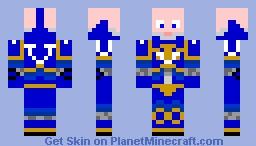 Ultramarine Pre-Heresy Skin Minecraft Skin
