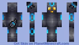 Shiny Umbreon (Pokemon) Minecraft Skin