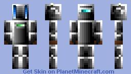 Unbot A.I. Minecraft Skin