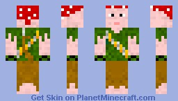 Uncharted 3 BETA Pirate-Green Version Minecraft Skin