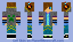 UncorruptedTeen (For pros) Minecraft Skin