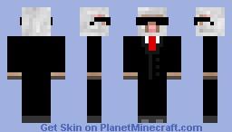 Agent Sheep - Black Sunglasses Minecraft Skin