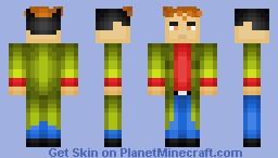 Peter Parker (Spider-Man Unlimited) Minecraft Skin