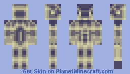 Unreal Machine (Includes Alternate Version) Minecraft Skin