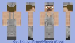 Train Conductor Tom Minecraft Skin